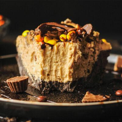 Decadent No Bake Peanut Butter Pie