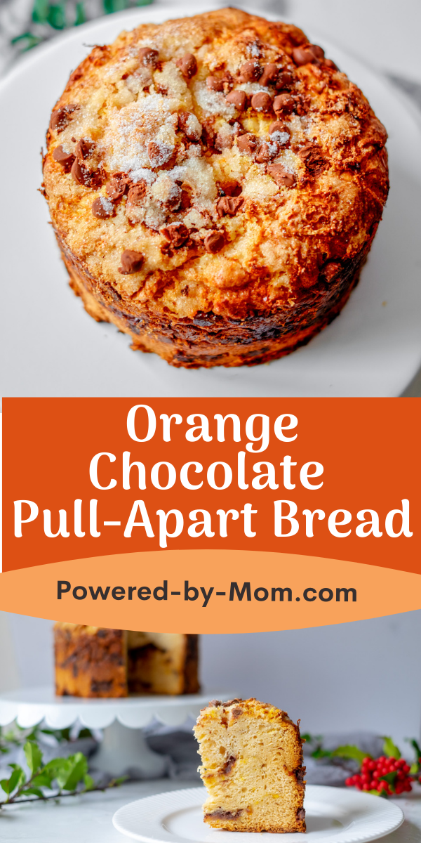 Orange Chocolate Pull Apart Bread is a perfect semi-homemade recipe using easy refrigerated crescent rolls for a fast treat you'll love!