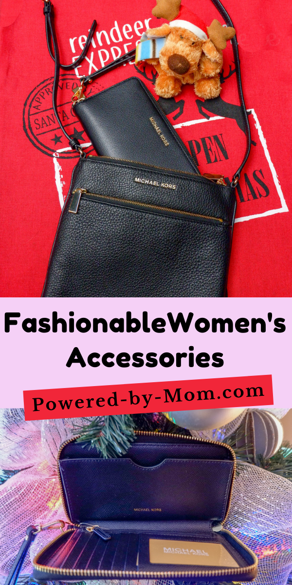 Handy but fashionable womens accessories always make for a great gift. Even better if they are versatile like this Michael Kors handbag and wristlet!