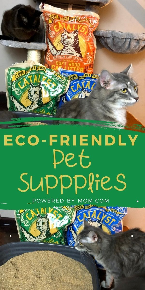 Catalyst Cat Litter is eco-friendly and has other useful purposes too. It's an easy way to be more green while providing odor control for your a cat's litterbox.