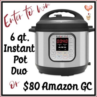 Instant Pot Duo or Amazon Gift Card