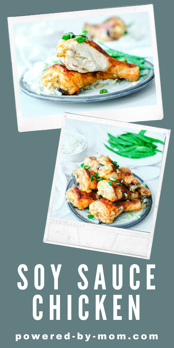 This soy sauce chicken recipe is easy to make, full of flavour and produces tender and yummy chicken. It can be made with drumsticks or thighs.