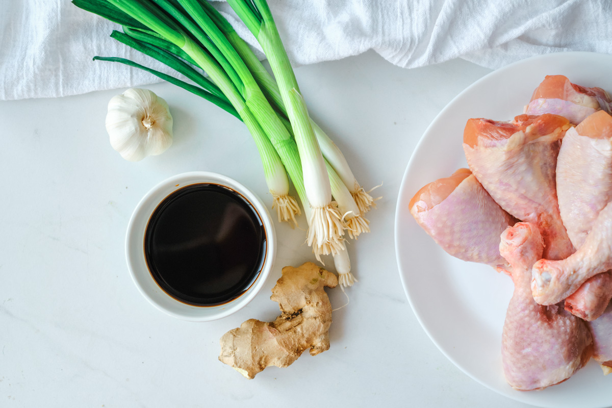 soy sauce chicken recipe ingredients