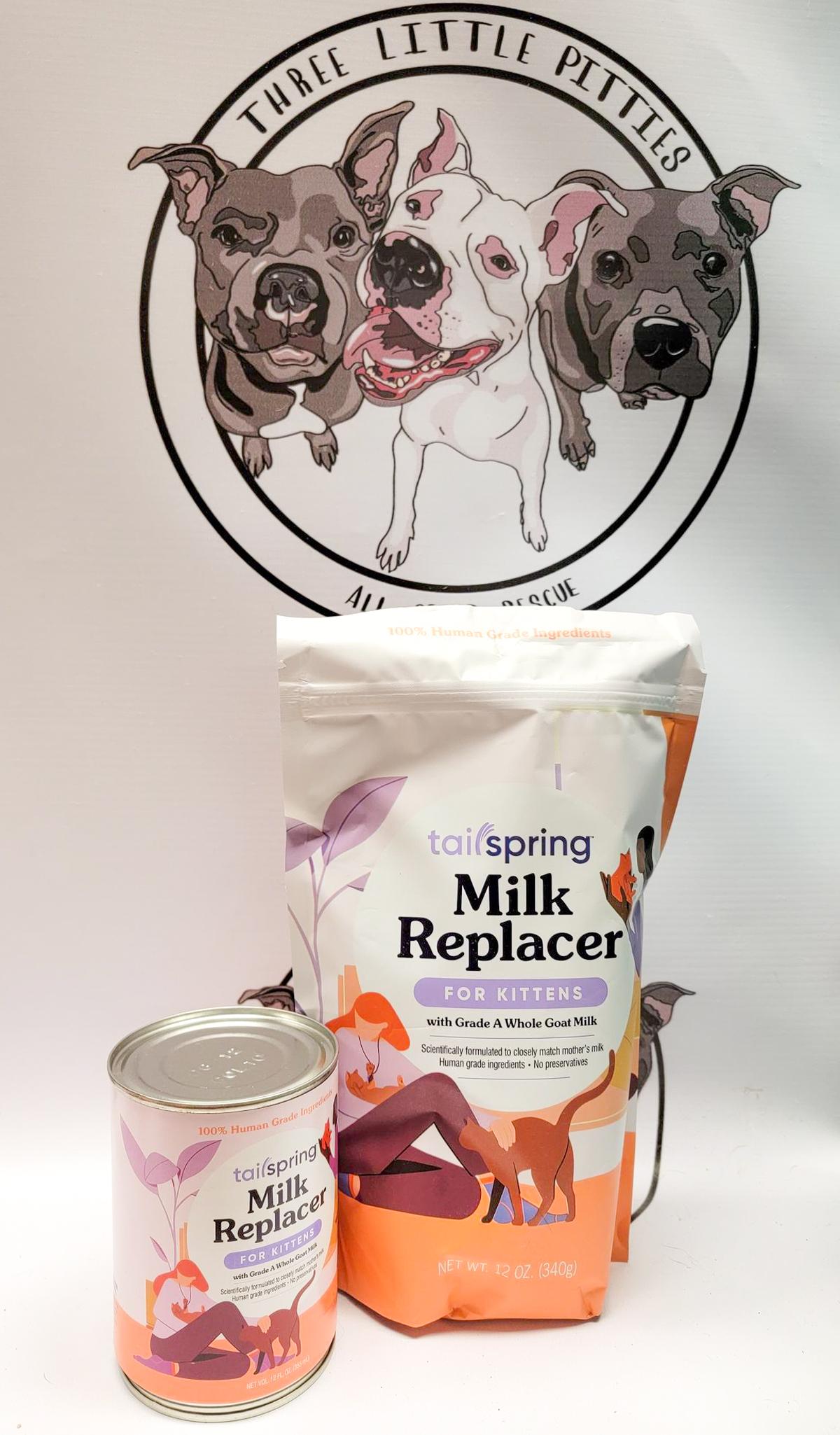 milk replacement