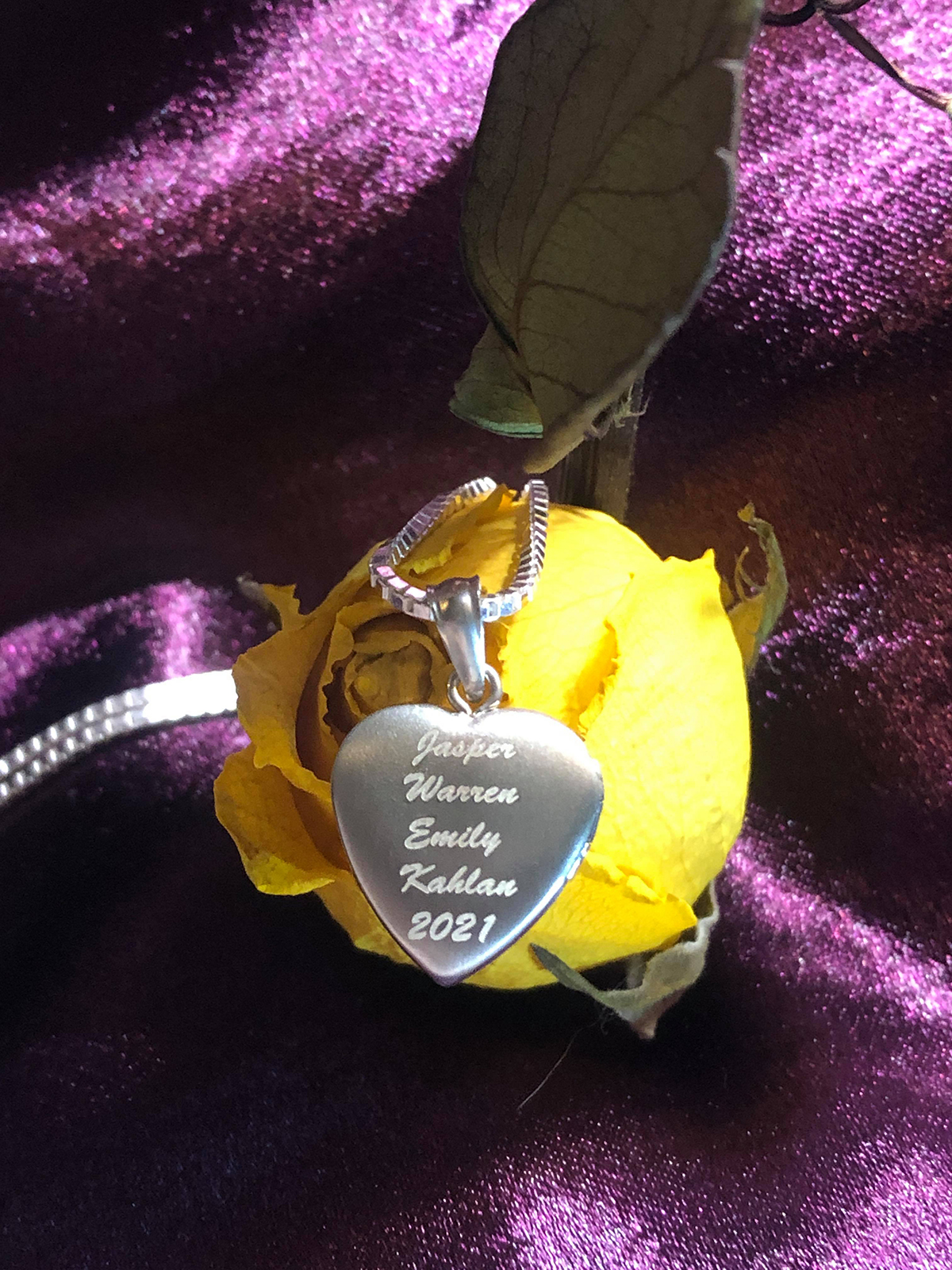 locket necklace for mom