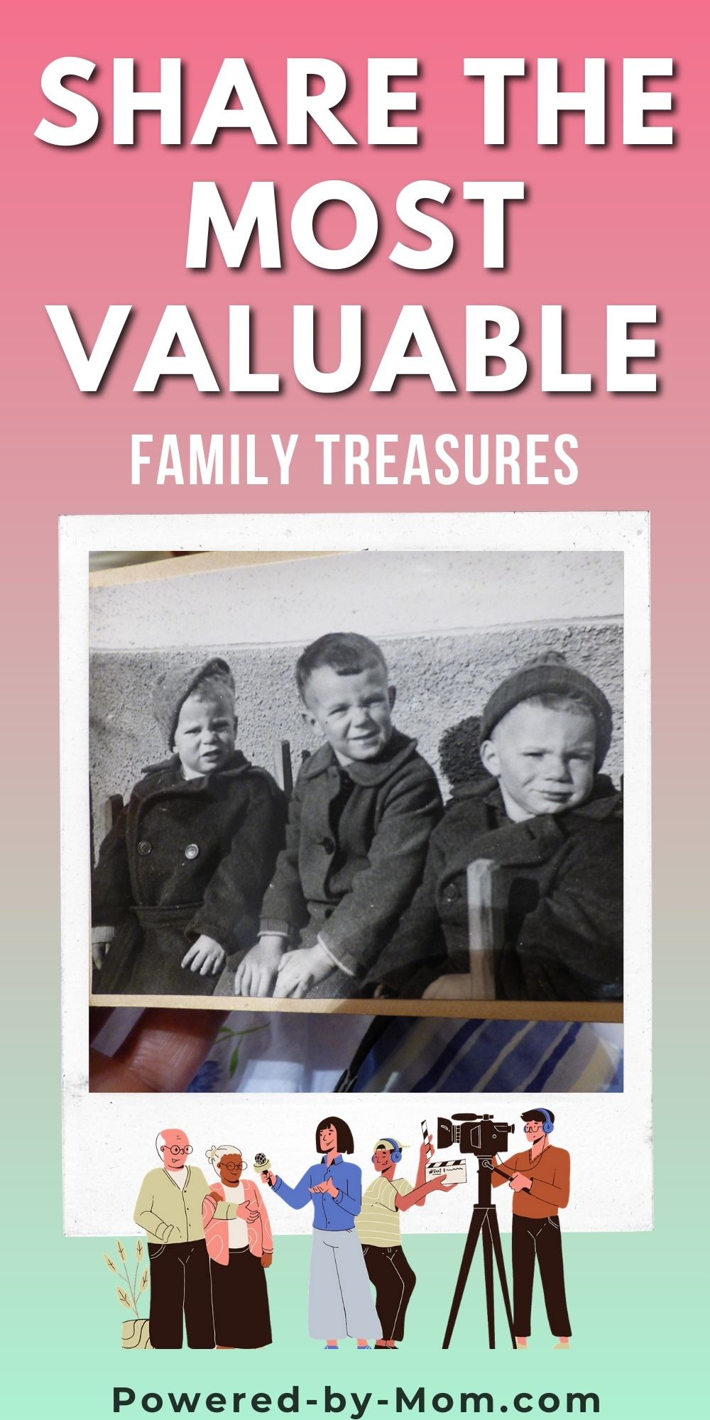 Preserve family treasures in the form of stories and memories from friends and family with this wonderful platform that creates a family keepsake.