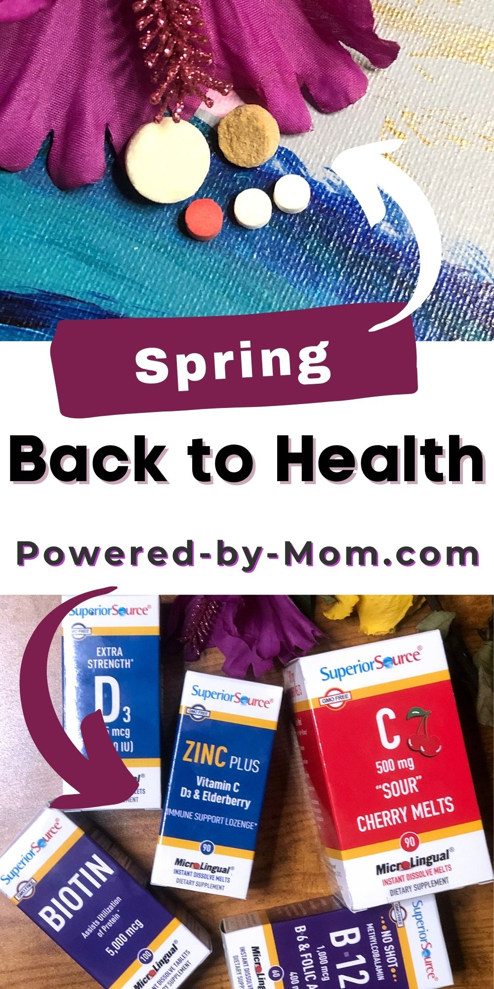Spring back to health this Springtime, keep your energy up, and enjoy the nice days! Luckily these supplements help.
