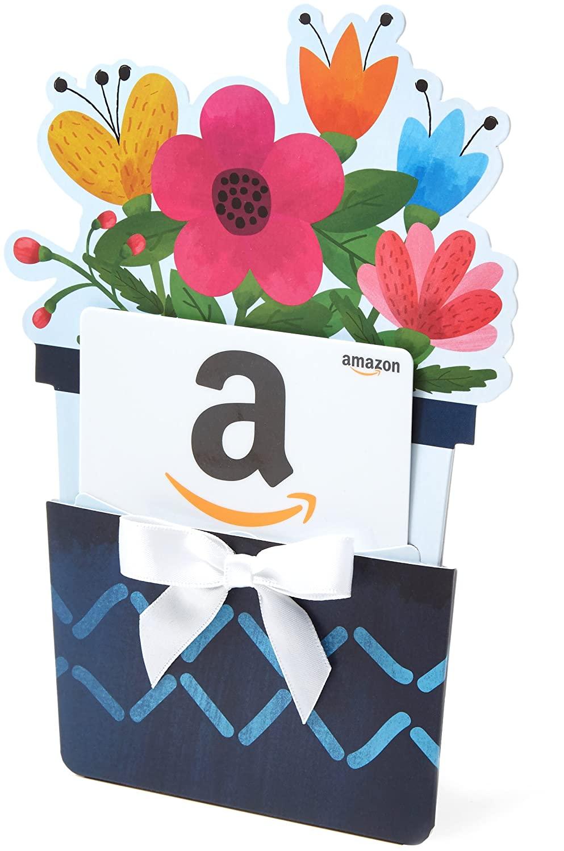 amazon gift card flowers