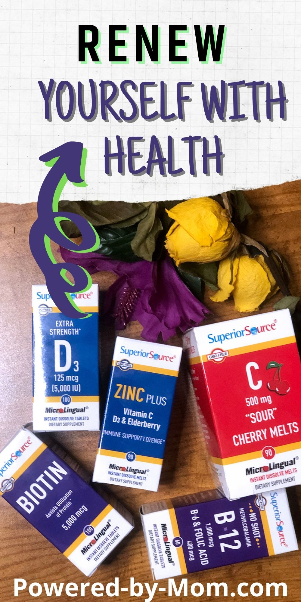 Renew yourself with some of the best, most effective health supplements around. Refresh for a healthy spring this year.