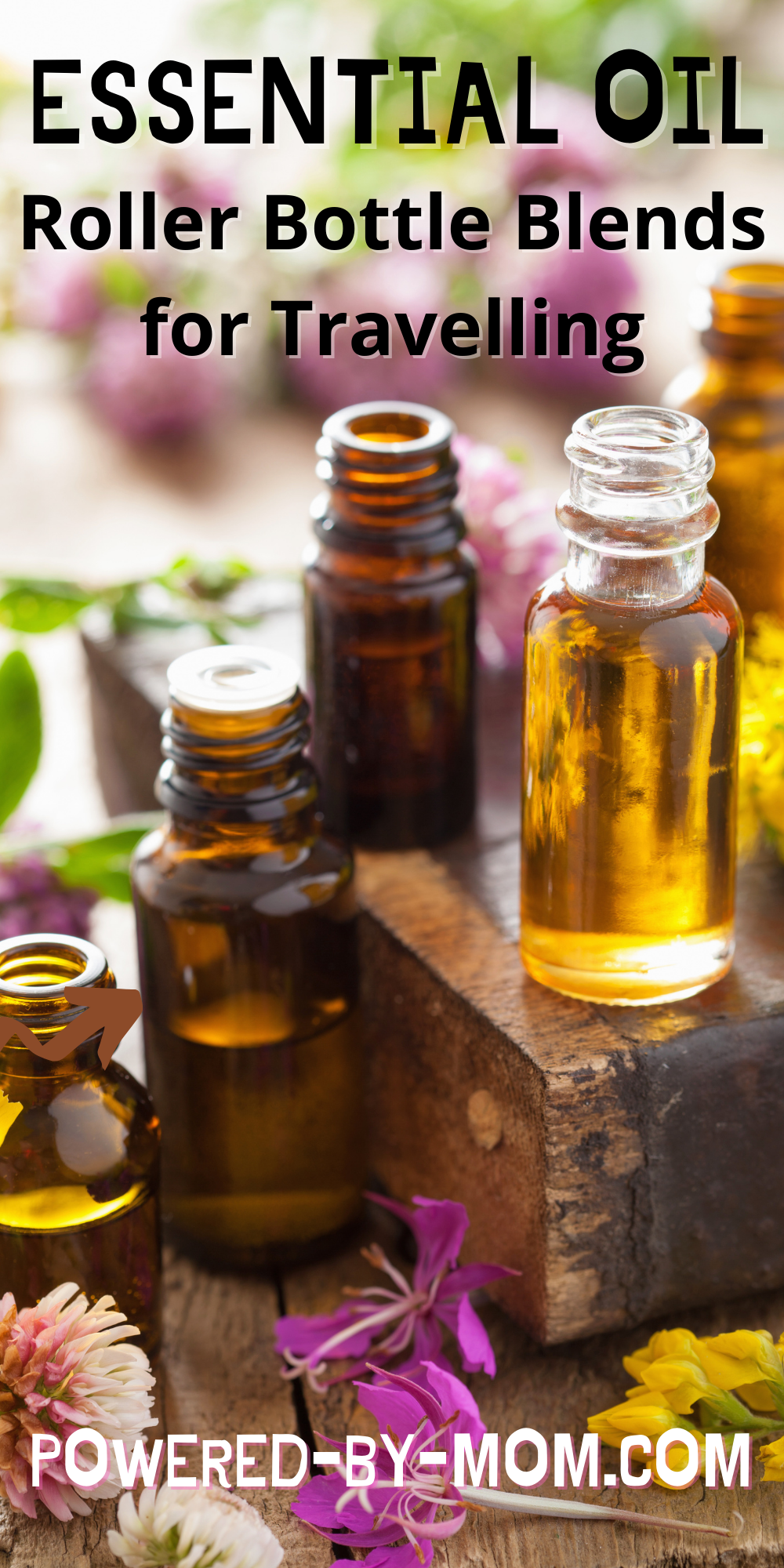 Love essential oil roller bottle blends? We do too and we're sharing some of our favourite blends for travelling any time of the year.