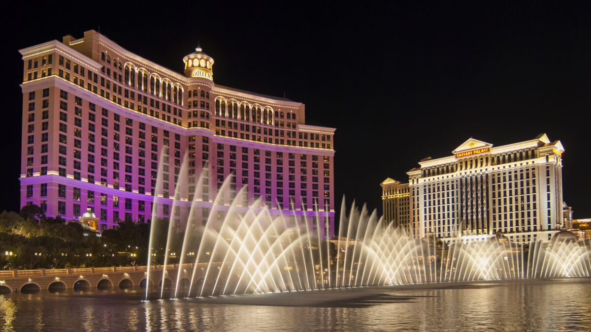Water Show at Bellagio