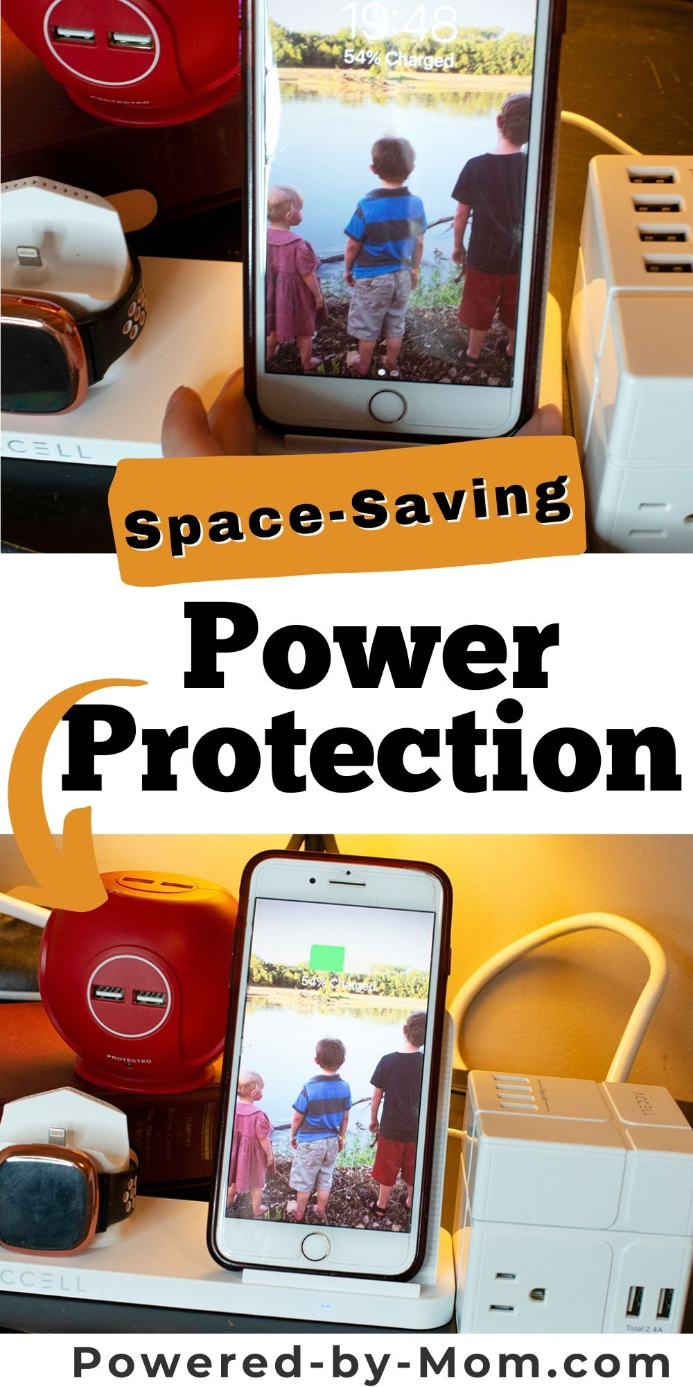 When you need compact power protection these units are so handy to power and charge without taking up a ton of space.