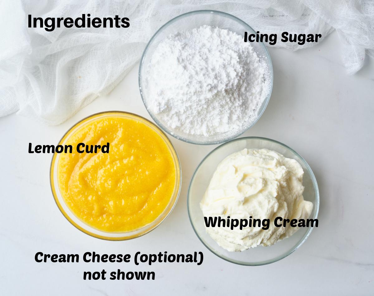 lemon mousse ingredients