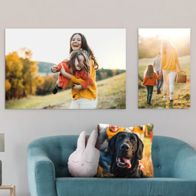 Tips for Using Personalized Prints in Home Decorating