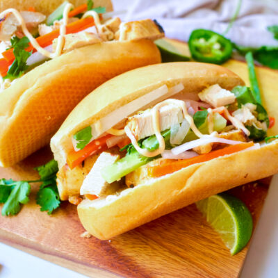 Lemongrass Chicken Bánh Mì