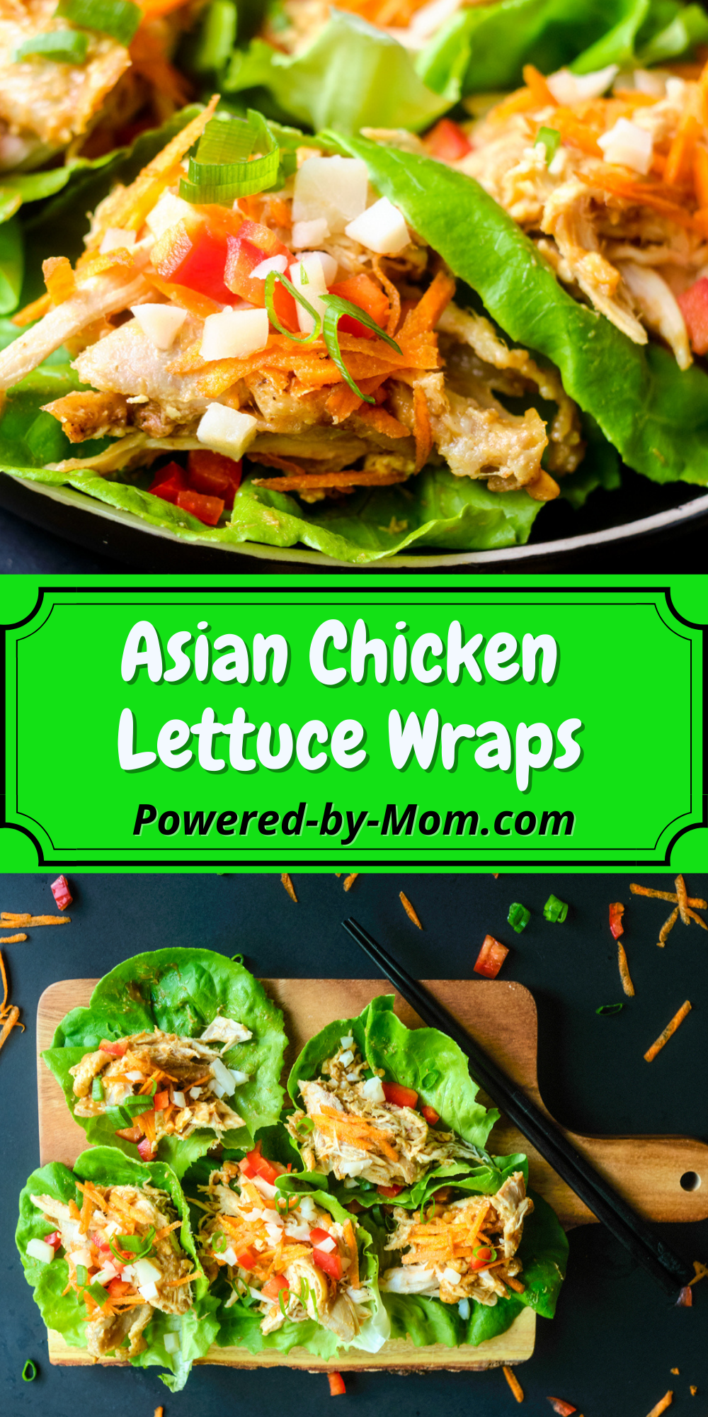 This recipe for Asian Chicken Lettuce Wraps is healthy, easy to make and full of flavour. They can be enjoyed as a dinner or even a snack.We love how tasty they are and that they are low in carbs too. Even better you can utilize leftover chicken (if it is plain or has complementary flavours) to make these yummy recipe for Asian Chicken Lettuce Wraps.